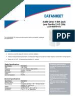 Prosoft Radio Antenna datasheet