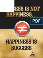 Success is Not Happiness
