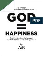 GOD =  HAPPINESS