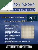 Ares Affordable Aesa Radar Flyer