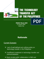 Technology Transfer Act of the Philippines