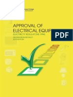 List of Approval Electrical Equipment 2016 Edition