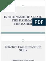 Communication Skills (Class2022)