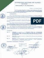 RESOLUCION N° 735-2018-UNU-R