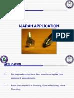 3 - Ijarah Application