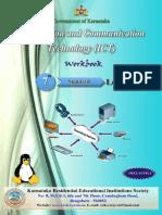 7th Std Workbook