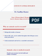 Ethical Issues in Animal Research_ ACTREC_10.1.2019 Dr. Sandhya Kamat