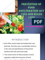 Prevention of Food Adultration Act.pptxkamini