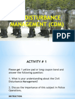 Civil Disturbance Management