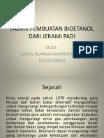 Ppt Bioetanol Dari Limbah Nenas