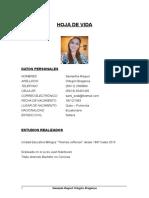 CV Samantha Ortegón