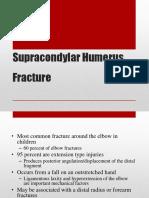 Supracondylar Humerus Fracture
