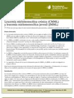 leucemia mielotica juvenil