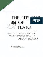 the republic of Plato -  Allan Bloom.pdf