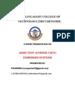 01 Addiction Avoider Using Embedded System