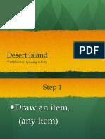 Speaking Desert Island
