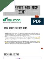 Why Revit for MEP BIM - Silicon EC