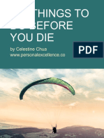 101 Things to Do Before You Die -Personal Excellence