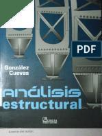 ANALISIS ESTRUCTURAL, GONZÁLEZ CUEVAS