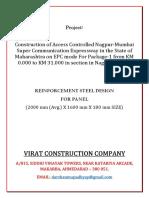 2. Steel Reinforcement Calculation