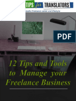 12 Tips and Tools to Manage your Freelance Business