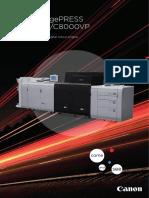 CANON ImagePress C10000VP-C8000CP Data Sheet
