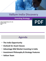 Vallum India Fund - Investor Presentation 2017