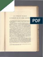 Al Margen de Un Libro Sobre Maria- Aldama (1953)