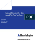 Opposed Piston Engine Modeling in GT SUITE From Pinnacle Engines