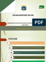 3. Problematika PIS-PK 2019