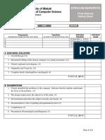 Defense Rating Sheet (CNA)