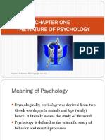 1 Nature of Psychology
