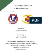 Referat Ilmu Penyakit Dalam-glomerulonefritis