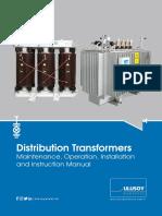 Transformer Maintenance Operation Installation Instruction Manual En