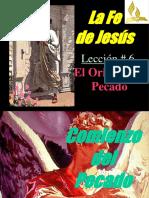ORIGENES DEL PECADO