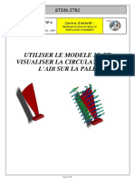 UTILISER LE MODELE 3D ET VISUALISER LA CIRCULATION DE L AIR SUR LA PALE.pdf