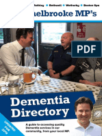 Alec Shelbrooke's Dementia Directory (Updated 2019)