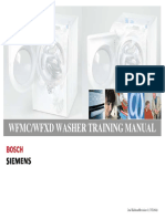 Bosch Siemens Wfmc Wfxd Training Manual