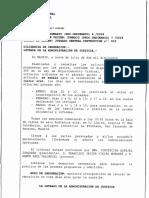 Resolució de l'Audiència nacional que fixa la data del judici contra Trapero