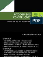 Aula 2-Patologia Alvenaria
