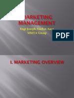 Marketing Management I