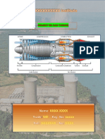 Project On Gas Turbine