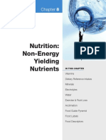 NCSF Chapter 8 Nutrition-Non Energy Nutients