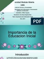importanciadelaeducacioninicial-140326220758-phpapp01
