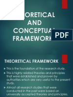 Theoretical and Conceptual Frameworks