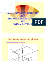 Rail Oscillation Forces -Assessment RS