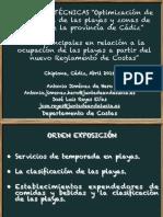 2. Ideas Basicas Del Reglamento de Costas y Ley de Costas Para La Elaboracion Del Plan de Explotacion de Playas II