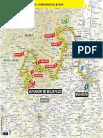 Parcours du Tour de France 2019