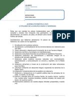 Agenda Patriotica 2025 Pilares