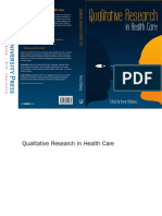 Immy Holloway - Qualitative Research in Health Care-Open University Press (2005)